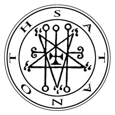 This is the seal for the demon 'Satanoth'.